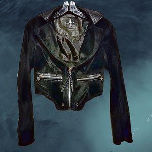 Rare Colorway Black & Blue Bondage **Jacket Only**